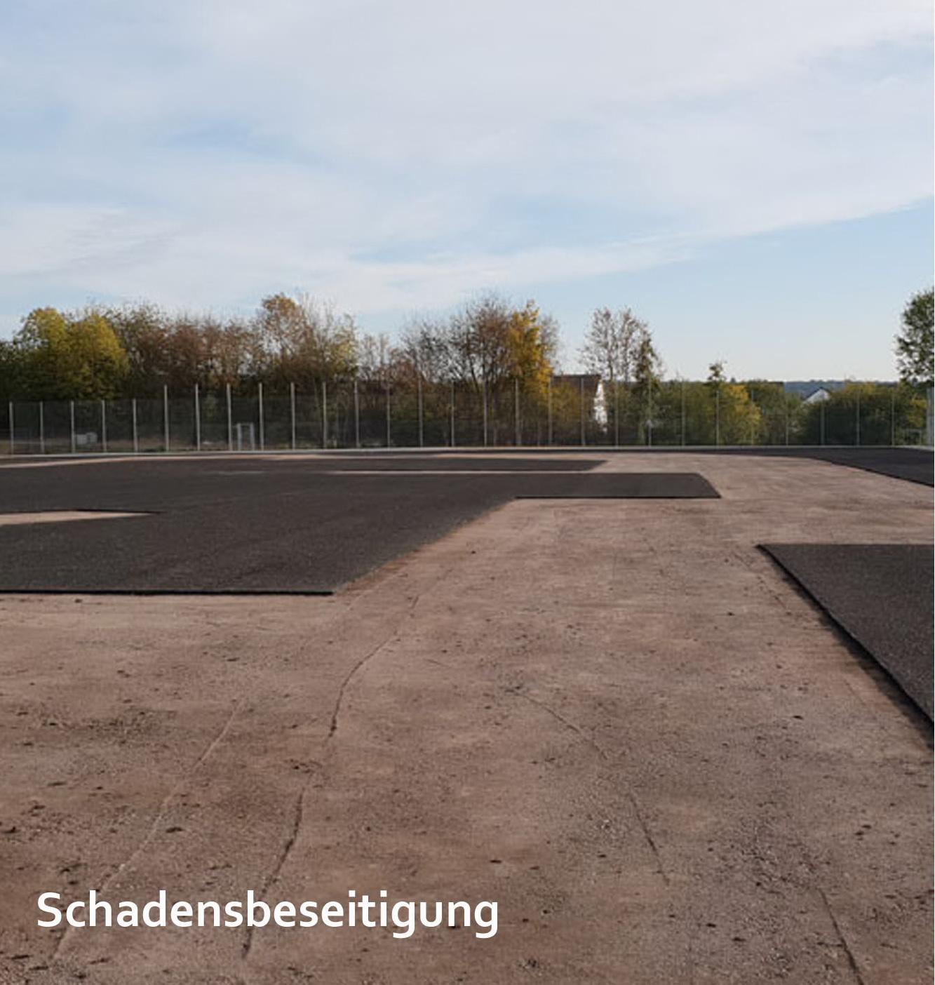 Sportanlage Altkönig Kronberg Altkönigschule im Taunus Beseitigung Vandalismusschaden